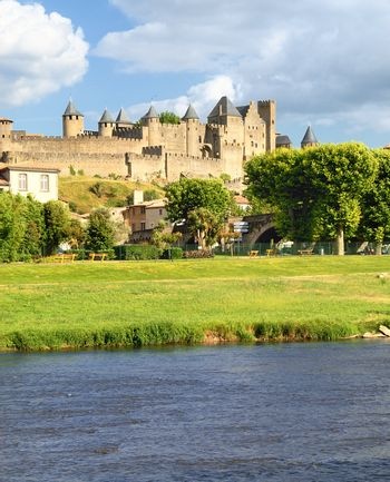 fortress Carcassonne (France,