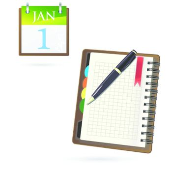 organize, page, paper, pen, planning