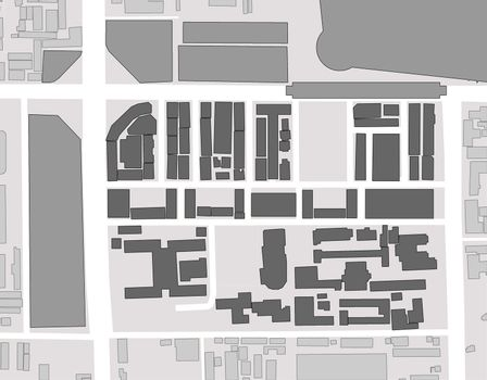 figure and ground of city