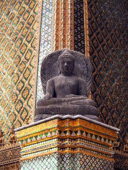 Buddha in Emerald Buddha Temple.
