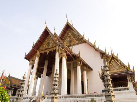 Wat Sutat Temple in bangkok ,Thailand