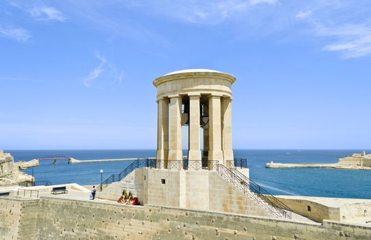 War Memorial in Valletta - Malta