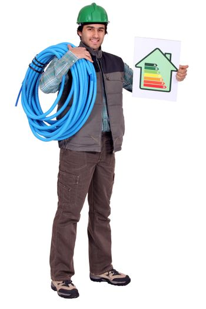 Energy efficient plumber
