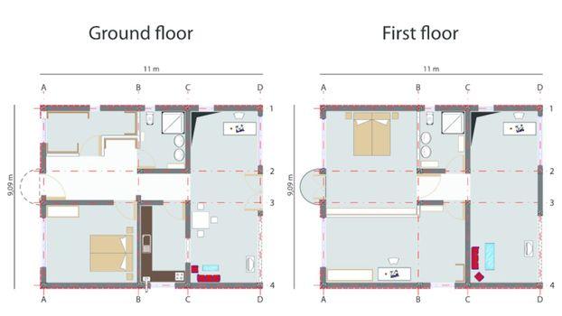 home design blueprint