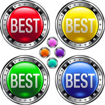 Best colorful button