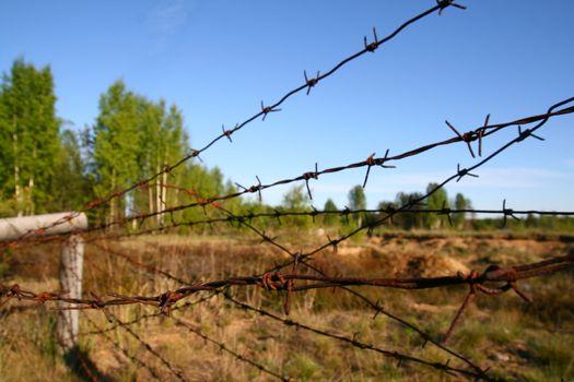 danger voltage fencing