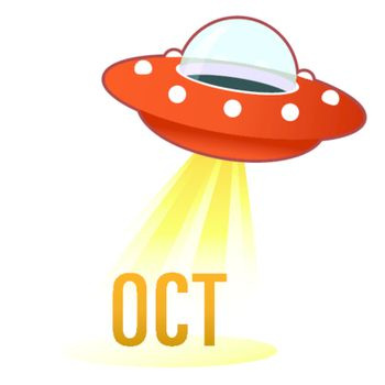October UFO button