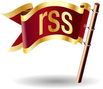 RSS feed royal flag