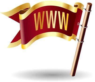 WWW file type royal flag