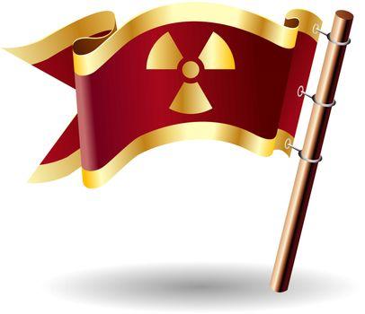 Radiation hazard royal flag