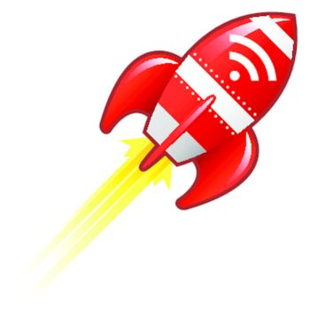 RSS feed retro rocket