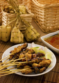 Asian Malay food
