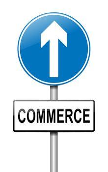 Commerce concept.