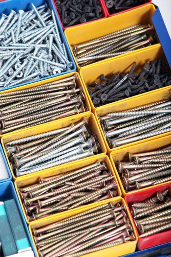 Toolbox with Bolts