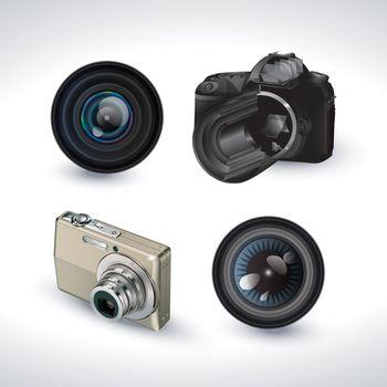 2 digital camera with 2 lens