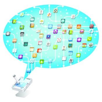 social network communication in the global mobile