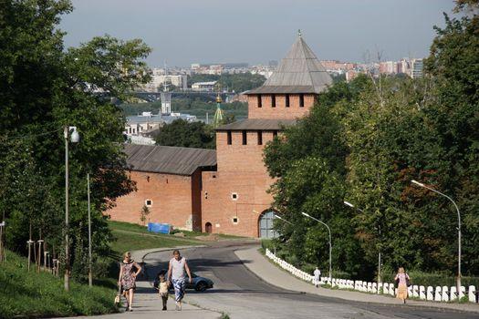Nizhny Novgorod kremlin, Russia