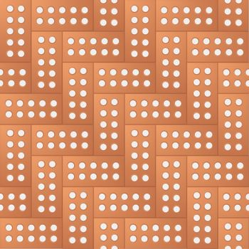 Brick pattern with seamless design with repeating concept