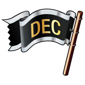 December pirate flag