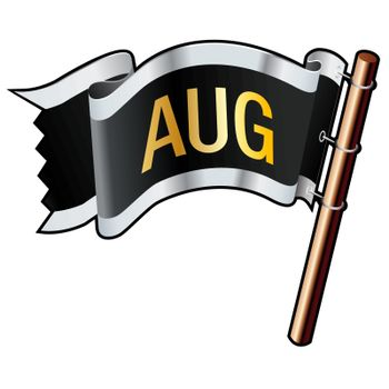 August pirate flag