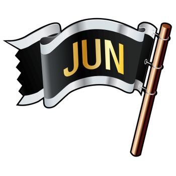 June pirate flag