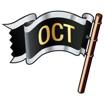 October pirate flag