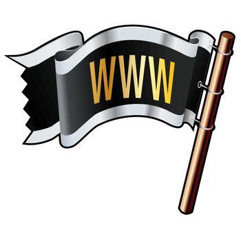 WWW pirate flag