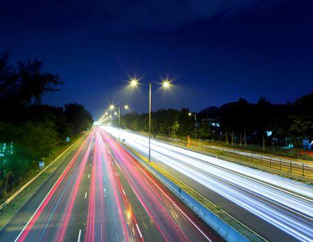highway ar night