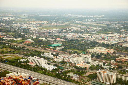 Outlying areas of Bangkok