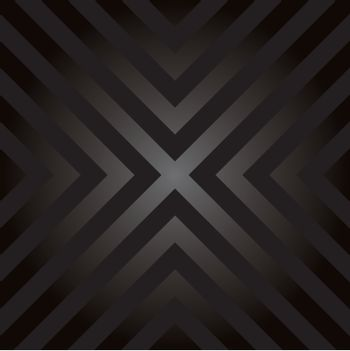 Seamless vector design with X shaped hazard striped lines.