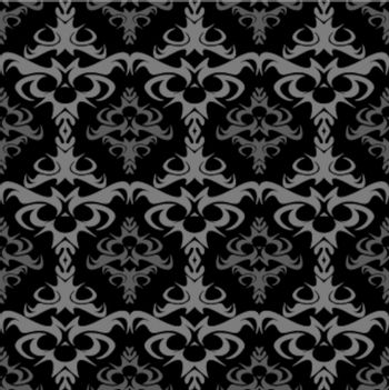 A seamless damask pattern or texture in vector format.