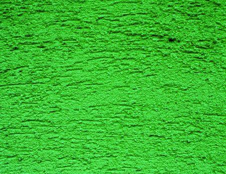 green plaster