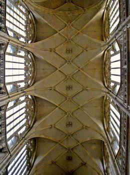 monumental Gothic vault