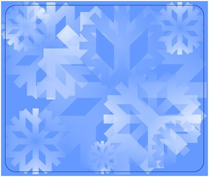 snow flake background