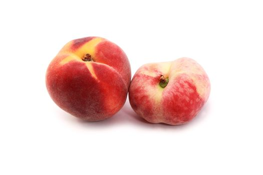 one wild and one cultivated peach