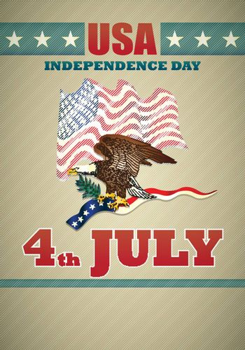 poster of independence day usa