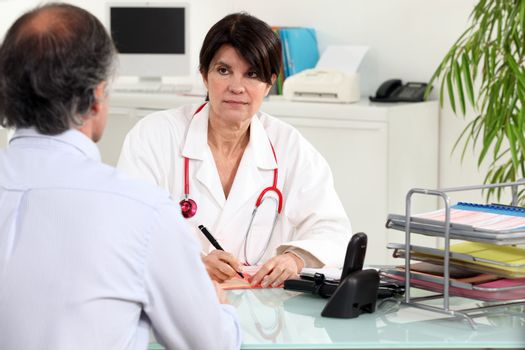 Patient and general practitioner