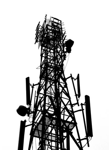 silhouette of antenna Tower of Communication