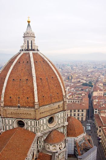 Cathedral Santa Maria del Fiore in Florence, Italy