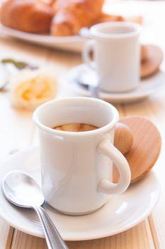 Coffee for energetic awakening