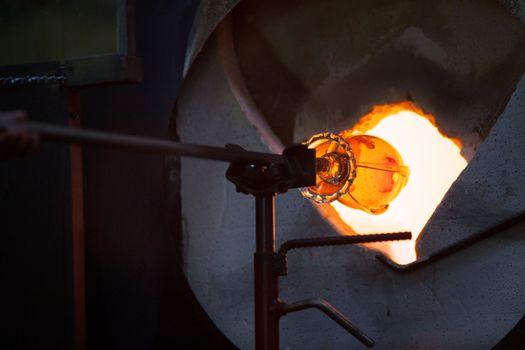 Glass in Blast Furnace