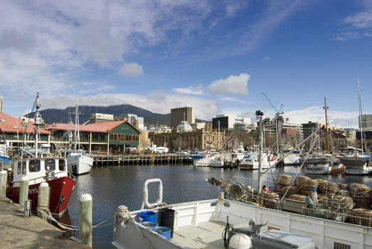 Hobart Constitution Docks