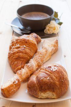 Cappuccino and Brioches