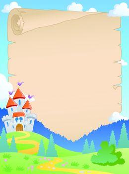 Fairy tale theme parchment 4
