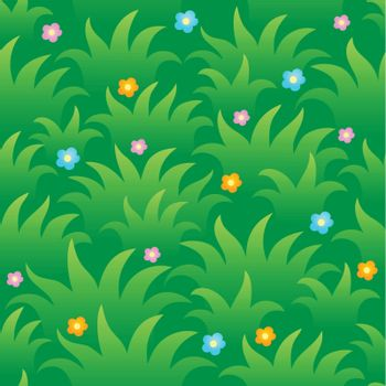 Grassy seamless background 1