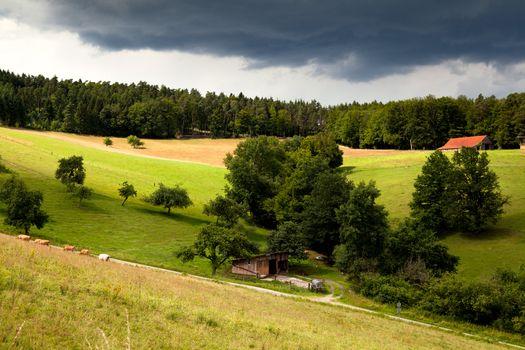 farmland in Bavaria