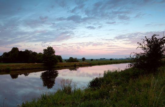 typical Dutch landscape