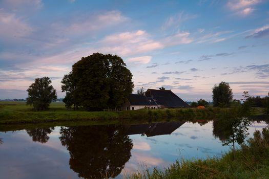 typical dutch farmhouse