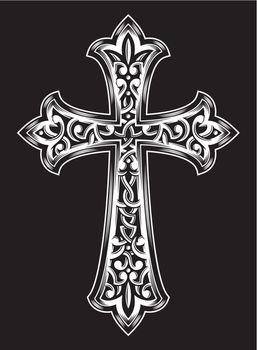 Antique Christian Cross