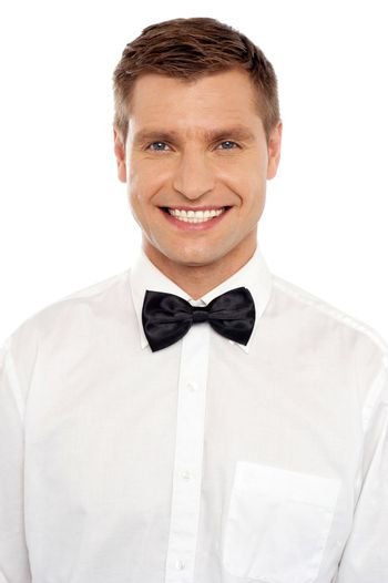 Handsome young smiling well dressed guy
